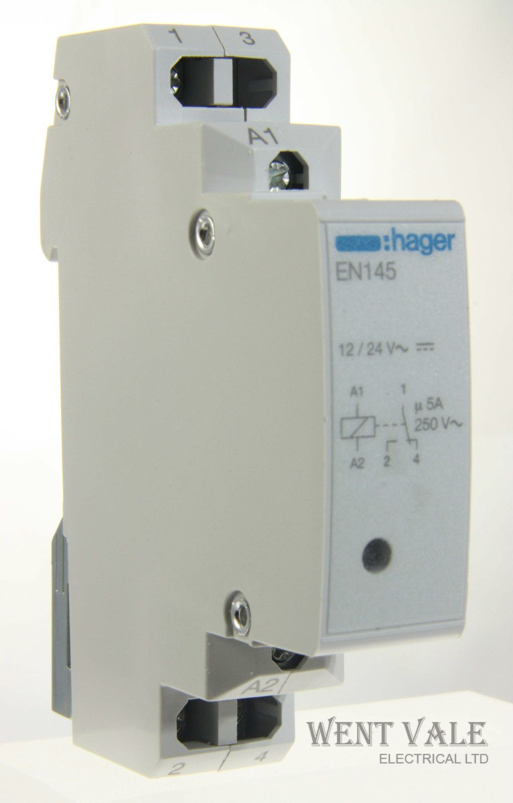 Hager Electrical Fuse Box : Hager en  vac interface or changover relay