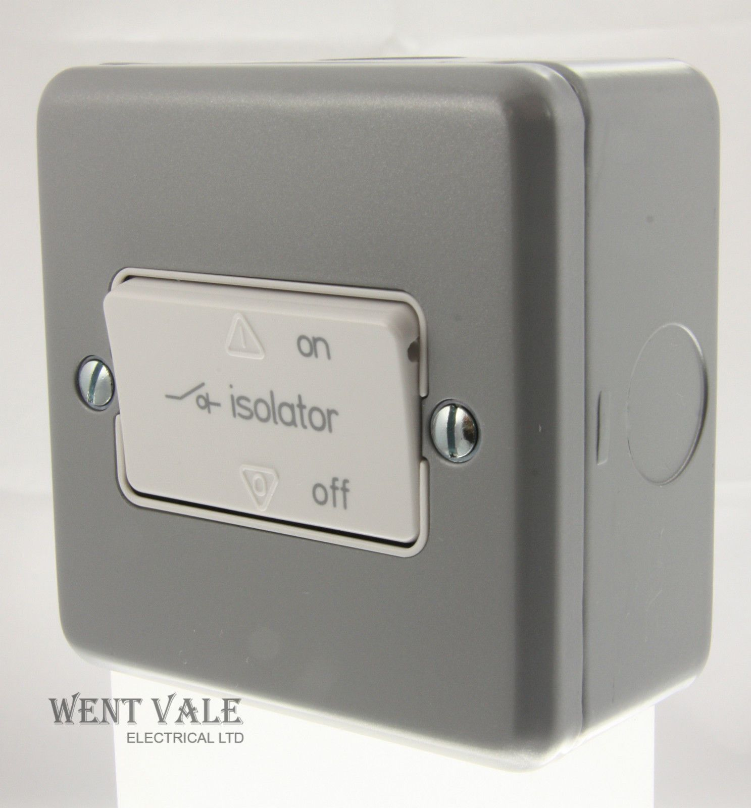 British General 45a Pull Cord Switch White Switches Sockets