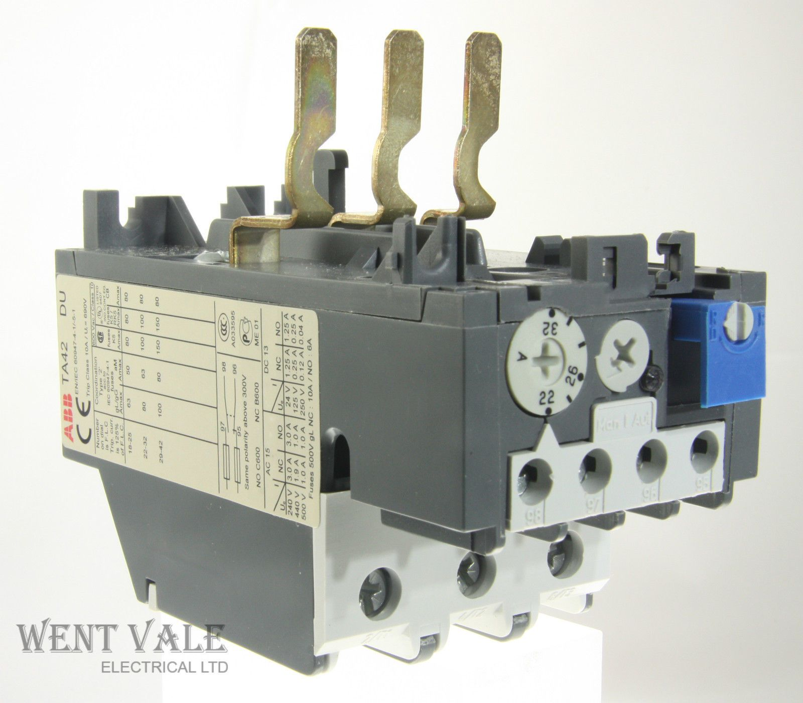 ABB TA42DU-32 - 32a Thermal Overload Relay Un-used
