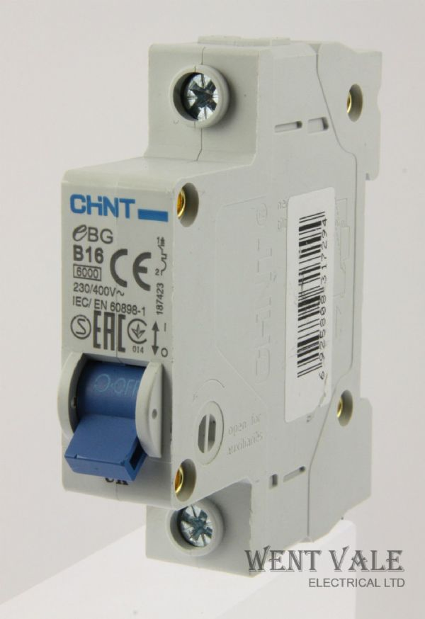 Chint NL1-63 63a 30mA Double Pole RCCB Used