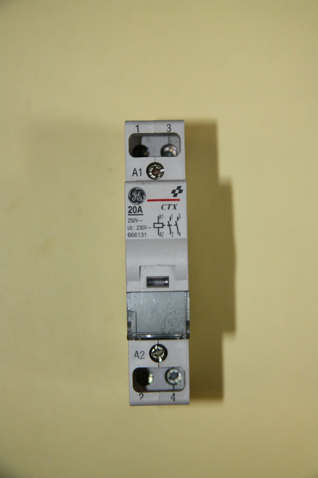 Ge ctx 666131 20a normally open contactor 240v coil used asfbconference2016 Image collections