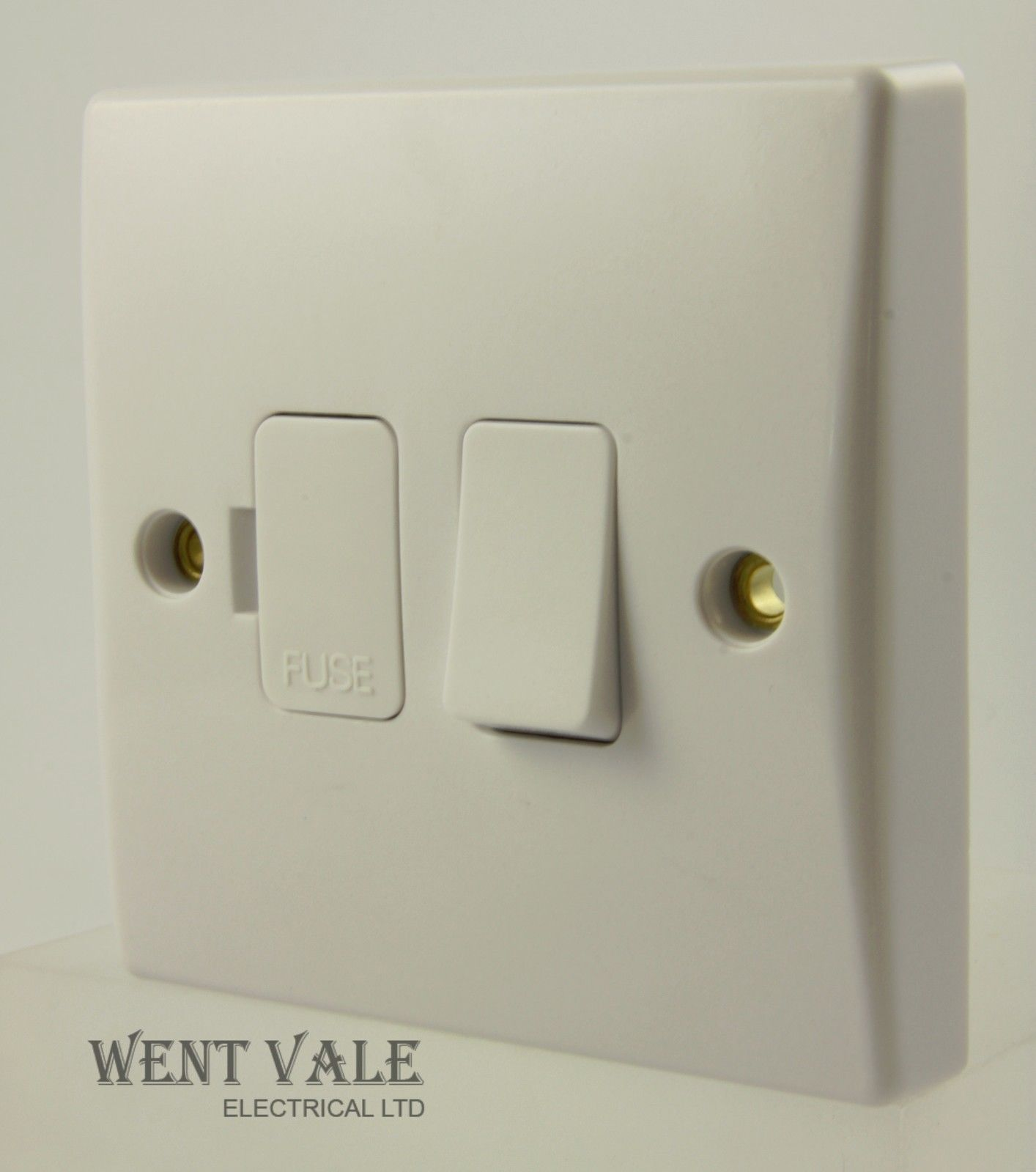 Get Exclusive Moulded Gu5013 13 Amp Sw Fused Spur With Flex Wiring Light Switch Outlet Un Used
