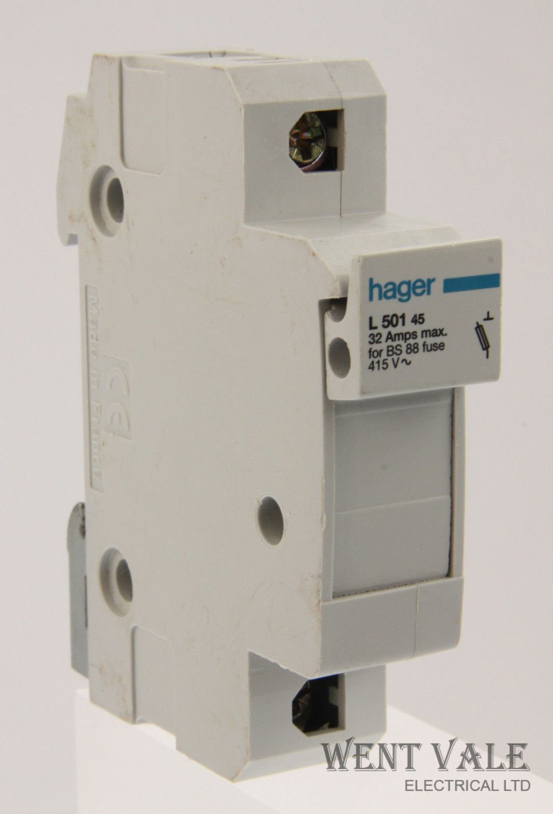 Hager Electrical Fuse Box : Hager l amp max bs cartridge fuse holder used