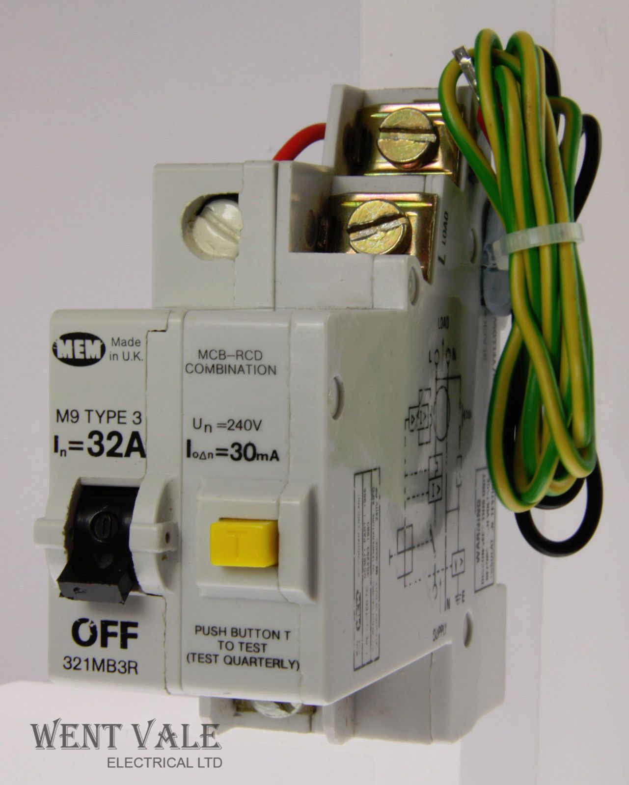 Mem Fuse Box Mcb Free Download Wylex Circuit Breakers To Replace Rewire Fuses Mini Trip Plug Memshield 1 321mb3r 32a 30ma Type 3 Rcd Combo New In Types