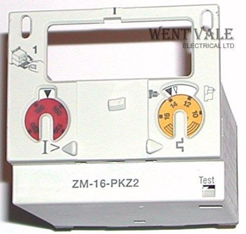 Moeller ZM-16-PKZ2 - 16a Motor Protector Trip Block New In Box